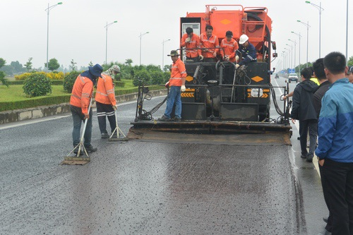 First micro-surfacing trial in Vietnam - TLC inside